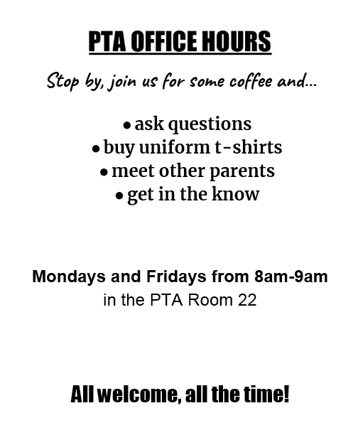 PTA Office Hours
